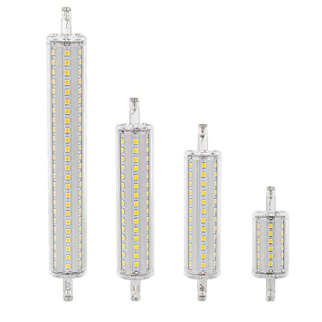 Bombilla de luz LED regulable r7s 78 mm 7W Reemplace la lámpara halógena CA 85-