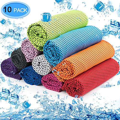 MENOLY 10 Pack Cooling Towel