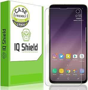 Samsung Galaxy S10e Screen Protector (5.8Inch) (2-Pack), IQ Shield LiQuidSkin Full Coverage Screen Protector for Samsung Galaxy S10e HD Clear Anti-Bubble Film