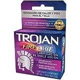 Trojan Condón Fire & Ice, 3 piezas