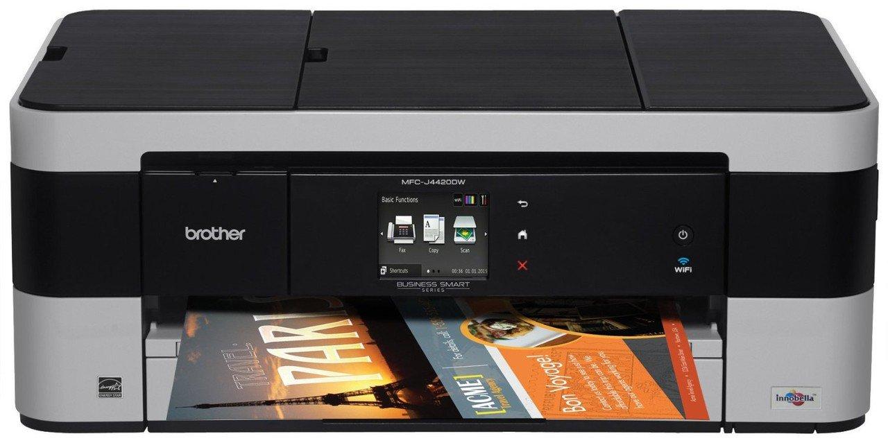 Brother MFC JDW Impresora multifunción de tinta profesional WiFi fax impresión A