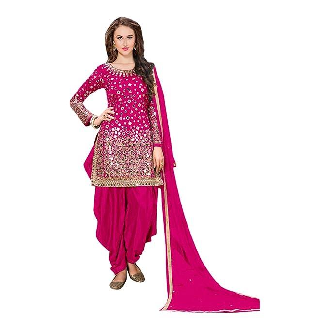 Custom-defined para medir indio patiala diseñador punjabi traje ...