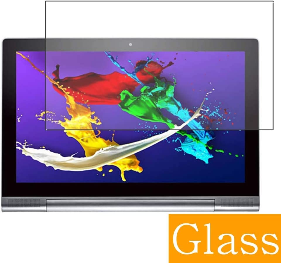 """Synvy Tempered Glass Screen Protector for Lenovo Yoga Tablet 2 Pro 1380F 13.3"""" Visible Area Protective Screen Film Protectors 9H Anti-Scratch Bubble Free"""