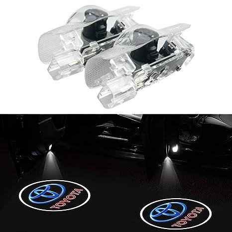 Amazon.com: 2 piezas Accesorios para Carro Luces Luz Led De ...