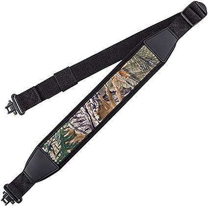 Bretelle de Pistolet Durable Ajusteur de Longueur BOOSTEADY Sangle de Fusil /à Deux Points avec /émerillon