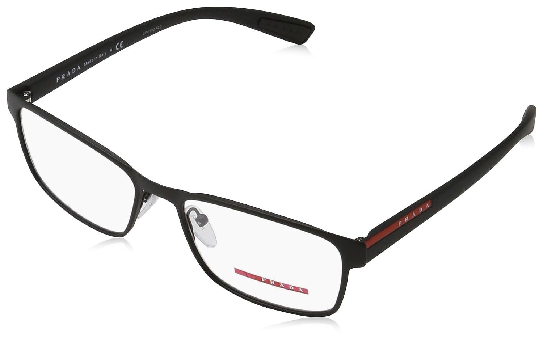 128b5fce788 Prada Linea Rossa Men s PS 50GV Eyeglasses 55mm at Amazon Men s Clothing  store