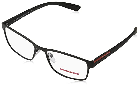 5c4961e60f0 Image Unavailable. Image not available for. Color  Prada Linea Rossa Men s  PS 50GV Eyeglasses 55mm