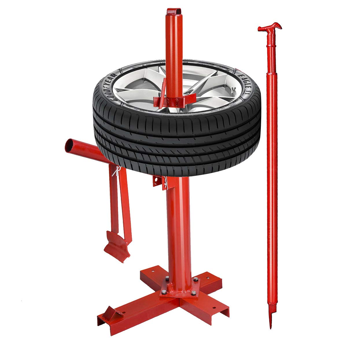 Goplus Manual Portable Hand Tire Changer Bead Breaker Tool Mounting Home Shop Auto by Goplus (Image #7)
