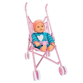 Amazon.es: Falca Baby Care LLORÓN con Sillita Paseo. Muñeco de Estilo clásico Muy Realista. Incluye Pijama, gorrito, Chupete y Carrito.: Juguetes y juegos