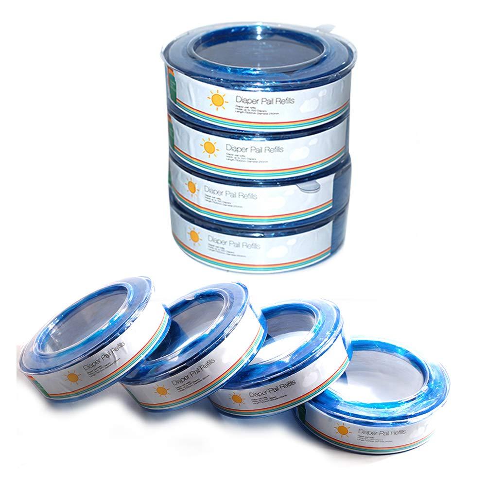 Ersatzkassetten Nachf/üllkassetten f/ür Angelcare Windeleim Systeme 7500mm 8er