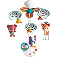 TINY LOVE Into The Forest Classic Baby Mobile, 3.0 Count
