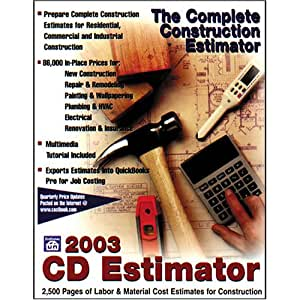 Cd Estimator 2003
