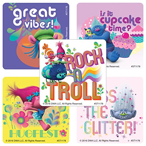 Dreamworks Trolls Stickers - Prizes and Giveaways - 100 per
