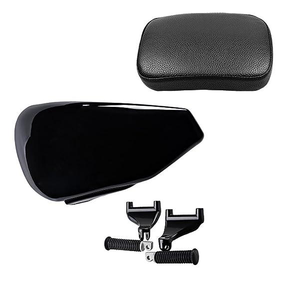 Rear Passenger Seat Footpeg Mount Set For Harley Sportster XL 883 1200 2007-2015