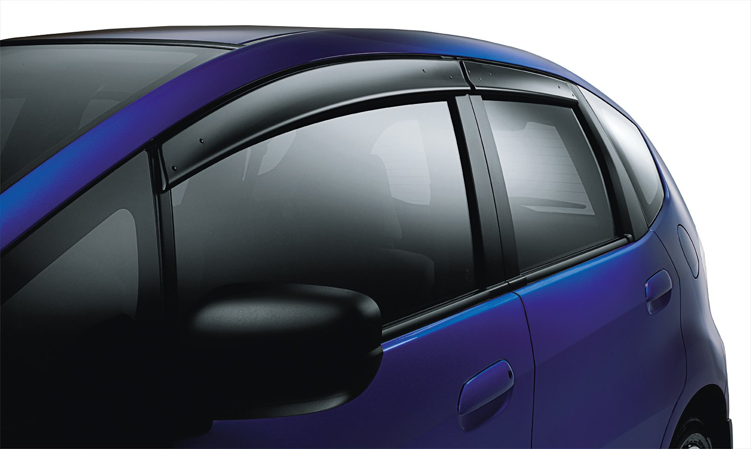 Amazon honda fit genuine factory oem 08r04 tk6 100a door amazon honda fit genuine factory oem 08r04 tk6 100a door visors 2009 2011 set of 4 for all doors automotive fandeluxe Images