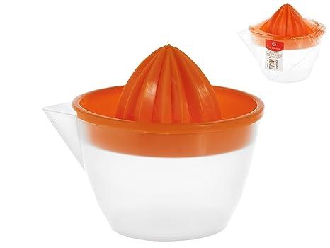Home - Exprimidor de plástico, Color Naranja