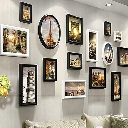 Cadre Photo Mur Grand Cadre Photo Multi écrans Mur Cadre