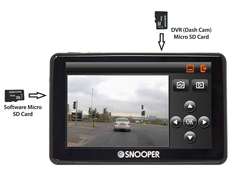 Snooper My Speed DVR G2/limite di velocit/à e sistema di allarme fotocamera con Dash Cam