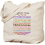 CafePress - Occupational Therapy Therapist Tote - Natural Canvas Tote Bag, Cloth Shopping Bag