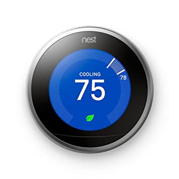 A picture of the Nest Thermostat