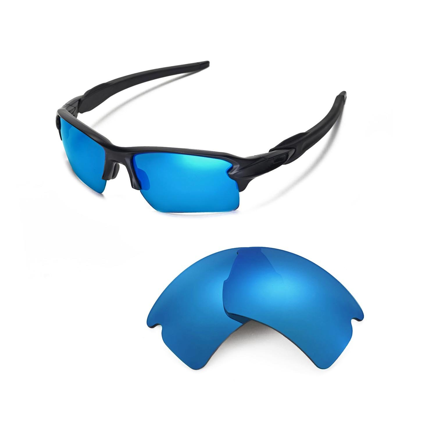 bcf25d2676 Walleva Replacement Lenses for Oakley Flak 2.0 XL Sunglasses - 26 Options  Available product image