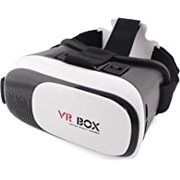 VR BOX 2.0 Version Virtual Reality 3D Glasses as your private 3D Cinema White