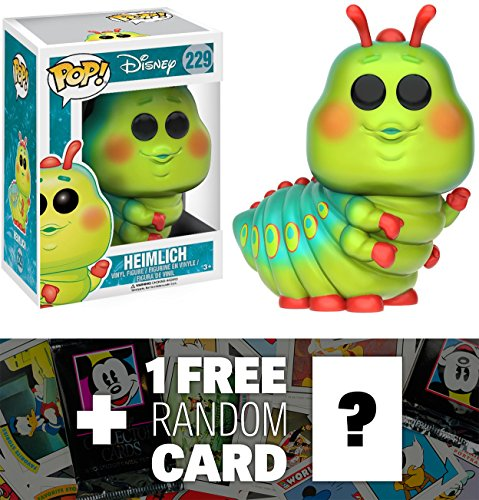 Heimlich: Funko POP! x A Bug's Life Vinyl Figure + 1 FREE Classic Disney Trading Card Bundle (117371)