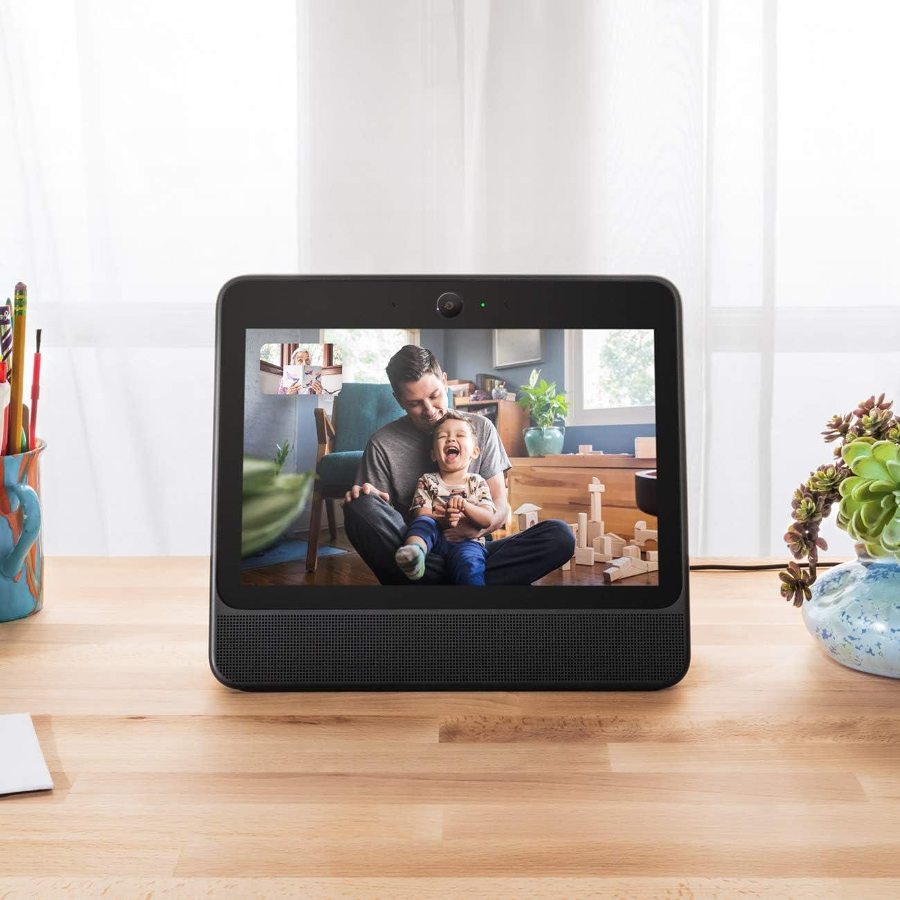 Gen 1 Portal from Facebook Hands-Free Video Calling with Alexa Built-in Smart