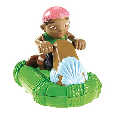Fisher-Price Disney's Jake and the Never Land Pirates Water Jet Racer - Izzy: Toys & Games