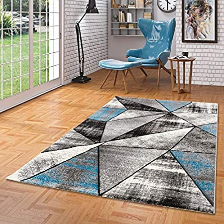 Brilliant - Tapis de Designer - Motif Magic - Gris Bleu - 5 ...