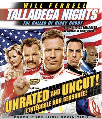 Talladega Nights: The Ballad of Ricky Bobby (Unrated and Uncut) [Blu-ray] (Bilingual) Will Ferrell John C. Reilly Sacha Baron Cohen Gary Cole