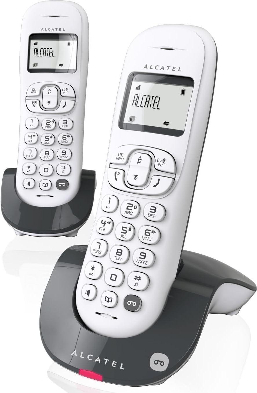 Alcatel C250 - Teléfono (Teléfono DECT, Terminal inalámbrico ...