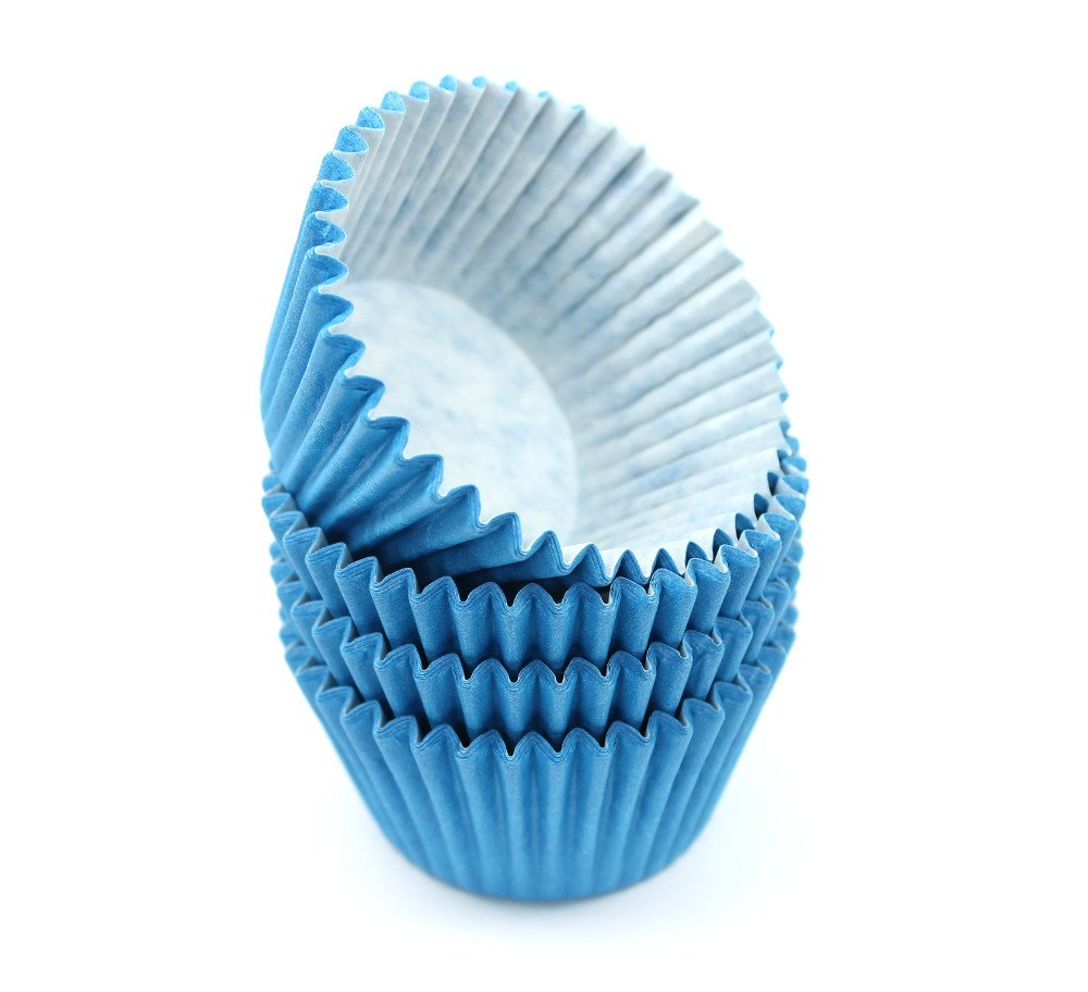 48 Blue High Quality Cupcake Muffin Cases St@llion