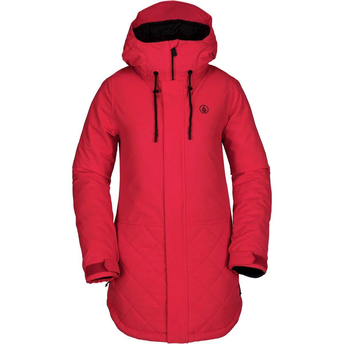 (ボルコム) Volcom Winrose Insulated Jacket レディース ジャケットCrimson [並行輸入品] Crimson 日本サイズ L相当 (US M)