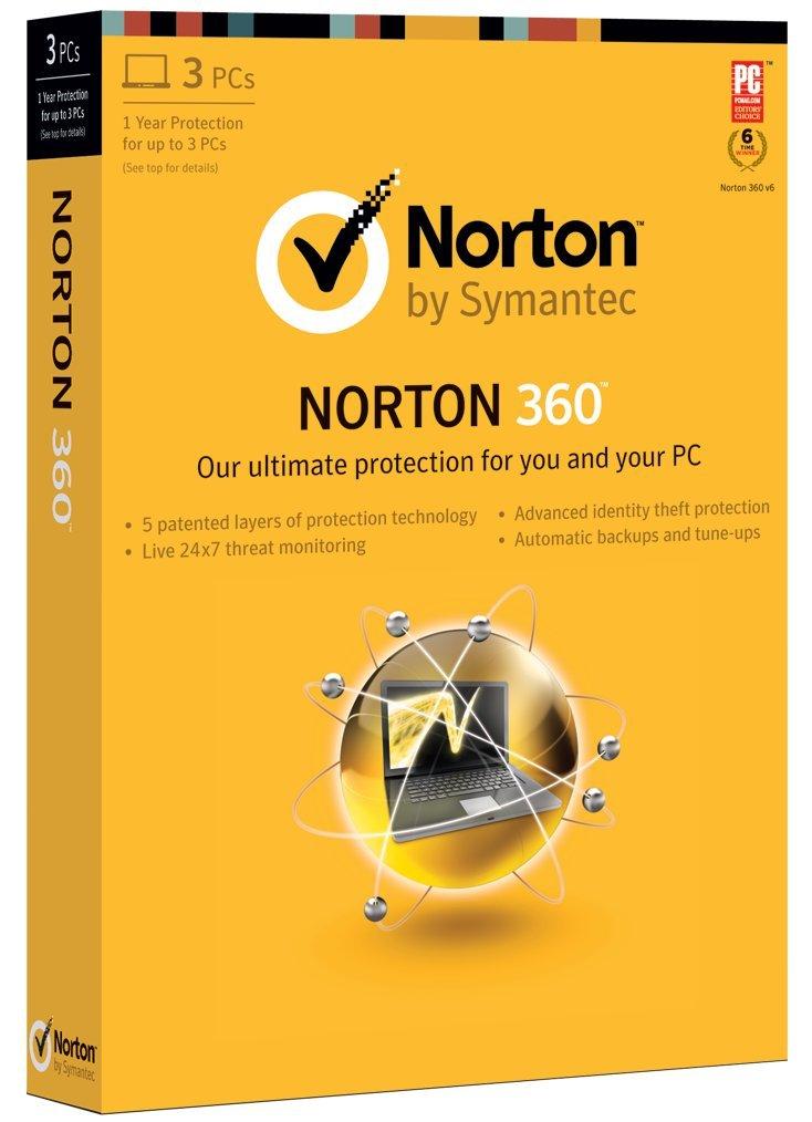 Norton 360 2013 - 1 User / 3 PC [Old Version] by Symantec