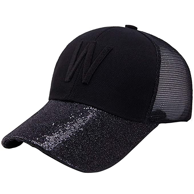 1e4b279a TANGSen Unisex Baseball Cap Summer Outdoor Fashion Breathable Sun Block Cap  Sun Screen Hat Sun Hat Black at Amazon Men's Clothing store: