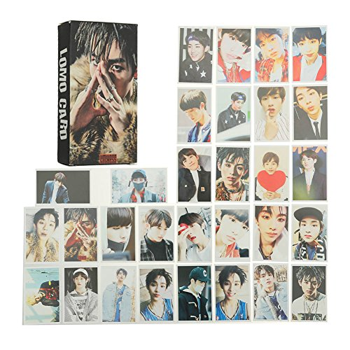 09 Hoodie - Youyouchard 30pcs/Set Kpop NCT127 NCT Dream Album We Go Up Lomo Card Self Made Autograph Photocard, 8856mm(NCT-09)