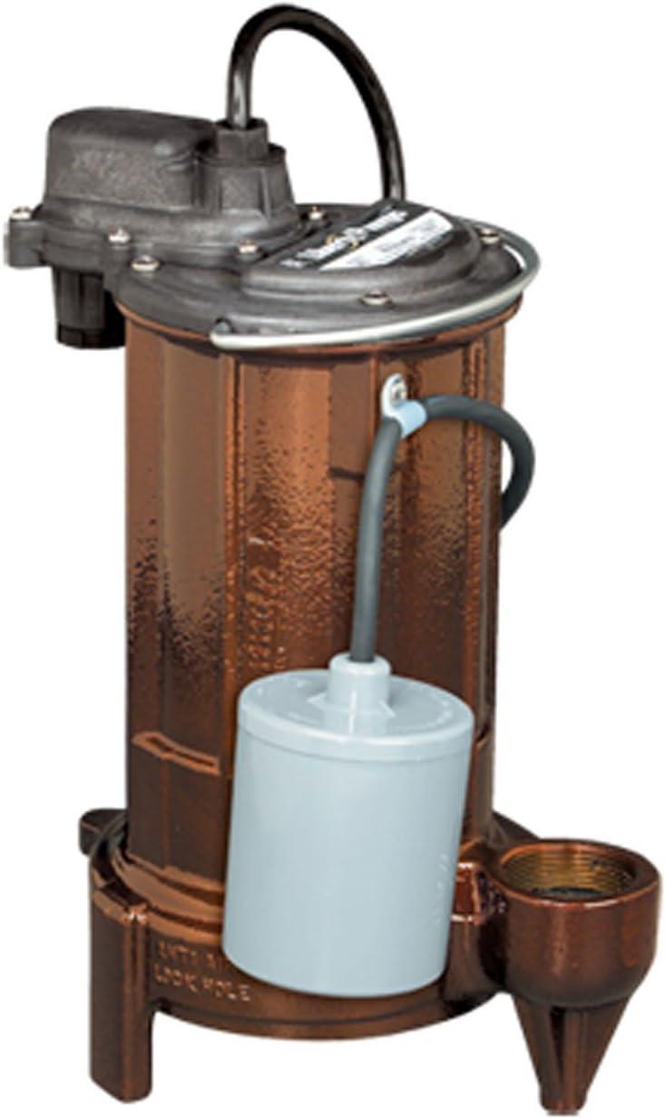 1//2 HP Liberty Pumps 280-Series Submersible Effluent//Sump Pump 287-VMF
