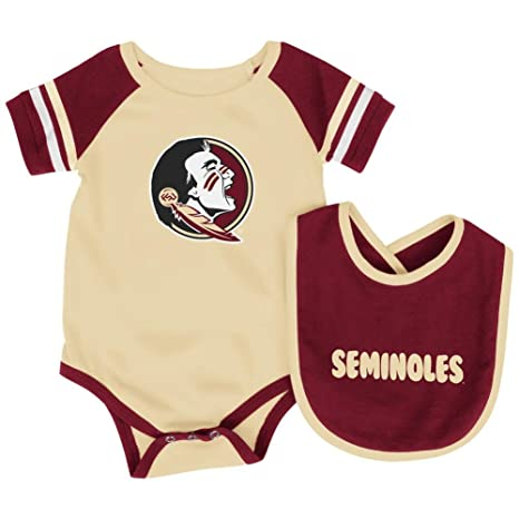 Amazon Com Florida State Seminoles Infant Roll Out Onesie And Bib