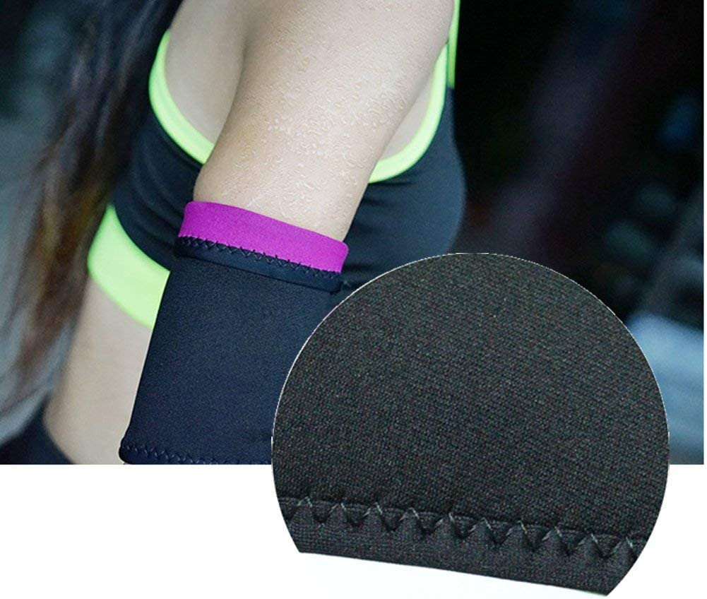 Z/&S Arm Trimmers for Men /& Women Neoprene Gym Exercise Compression Slimmer Bands for Workout Fat Burning Sudatory Black,2pcs Pack S M L XL