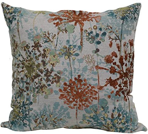 Brentwood Originals Cape Myrtle Pillow, 18 x 18 , Tangerine