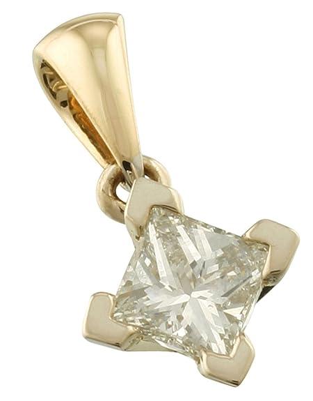 Simply Diamonds Color Dorado 18ct 2 diseño de princesas ...