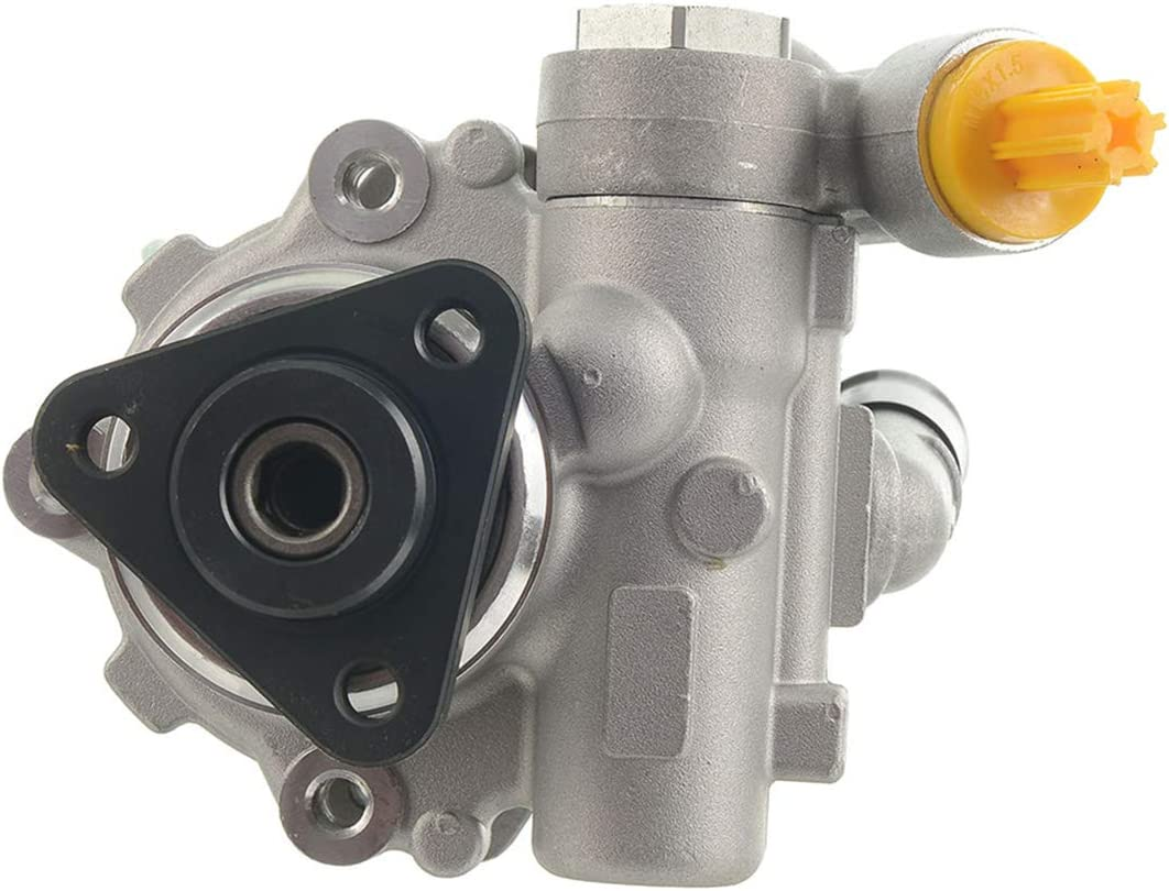 A-Premium Power Steering Pump with Pulley Compatible with Audi A4 A4 Quattro A5 A5 Quattro 2009-2012