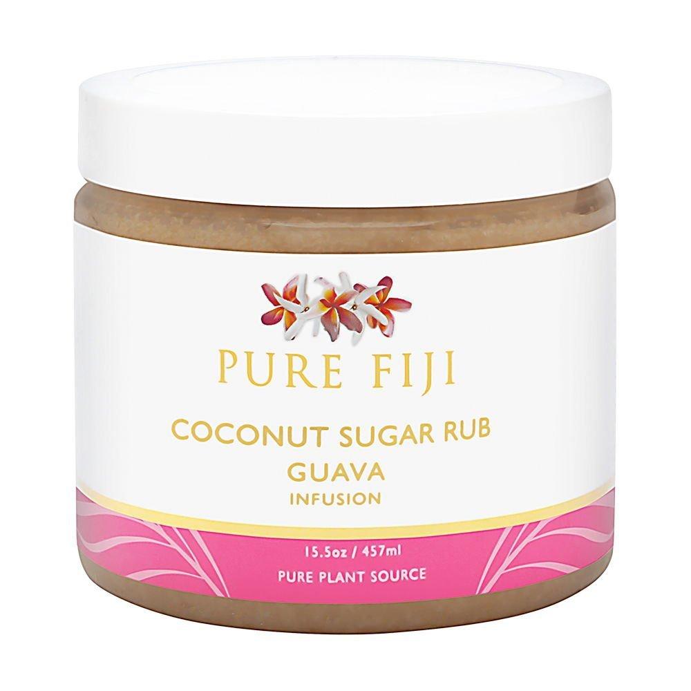 PURE FIJI Sugar Rub, Guava, 15.5 Ounce