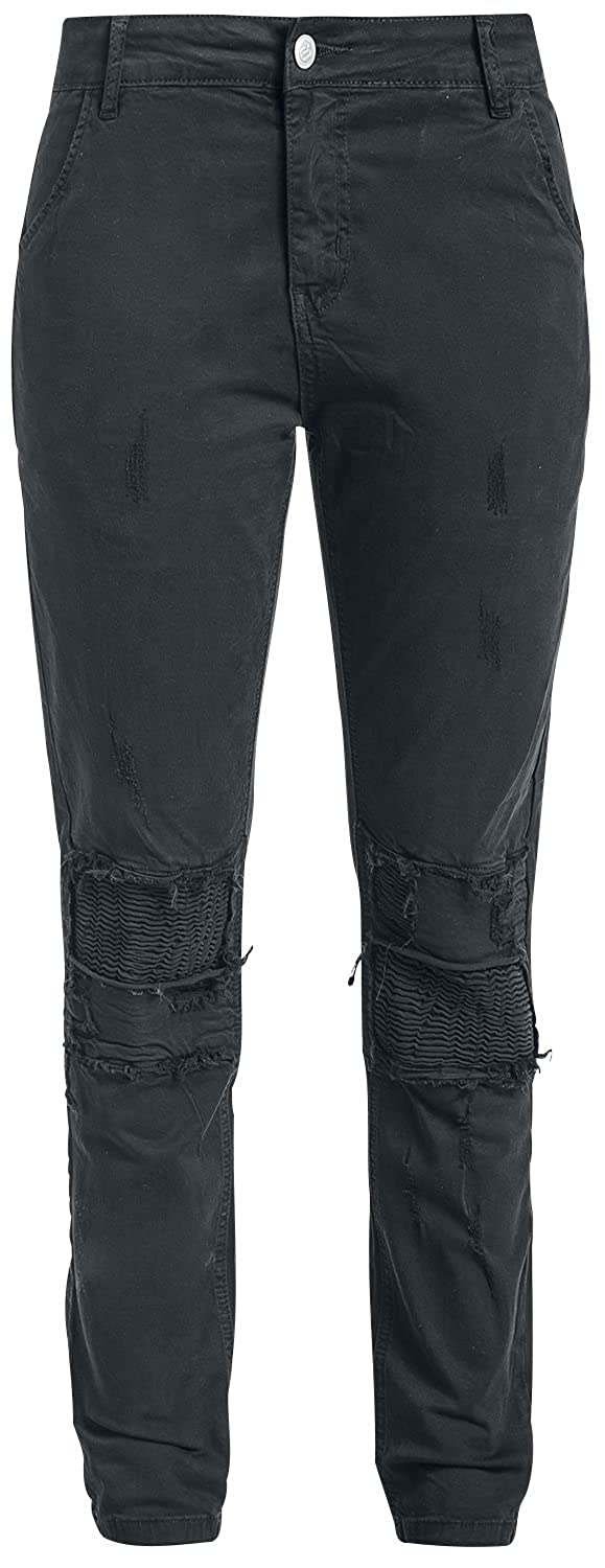 R.E.D. by EMP Charlotte Pantalones Mujer Negro am37z5