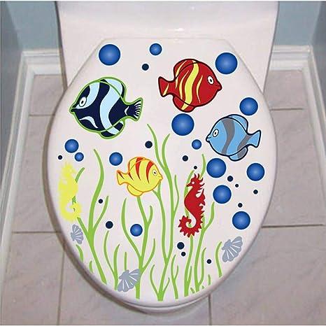 Amazing Amazon Com Lqqqqt Wall Sticker Underwater Fish Bubble Pdpeps Interior Chair Design Pdpepsorg