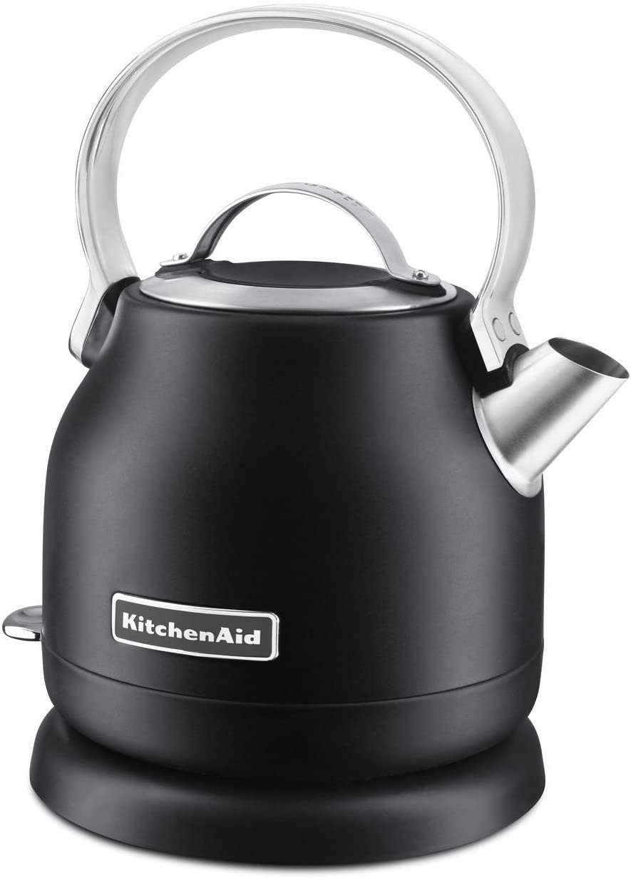 KitchenAid KEK1222BM 1.25-Liter Electric Kettle, Black Matte