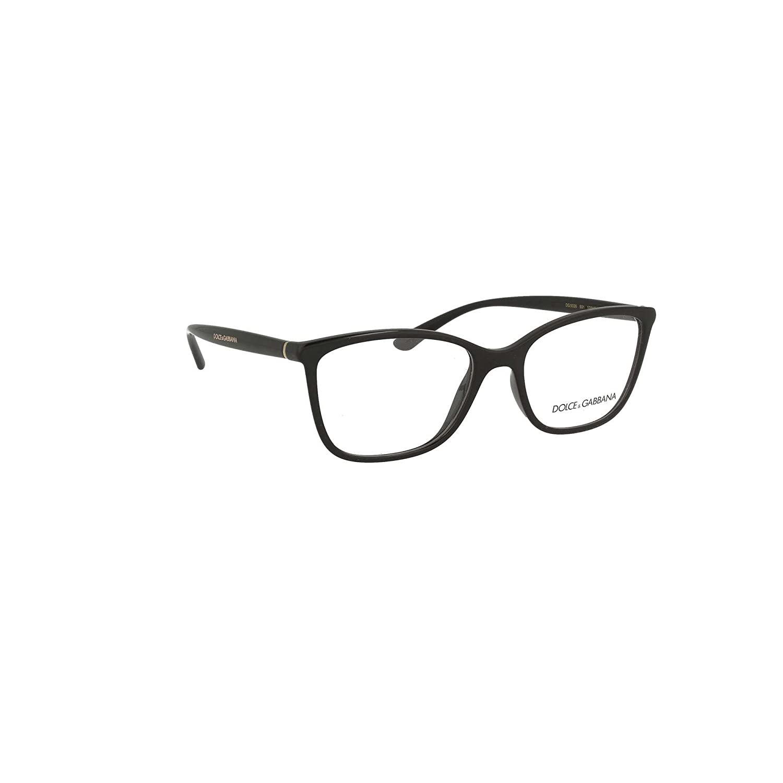 b70ab76c6a1 Amazon.com  Eyeglasses Dolce   Gabbana DG 5026 501 BLACK  Clothing