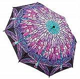Galleria Tiffany Dragonfly Folding Umbrella - Tiffany Dragonfly
