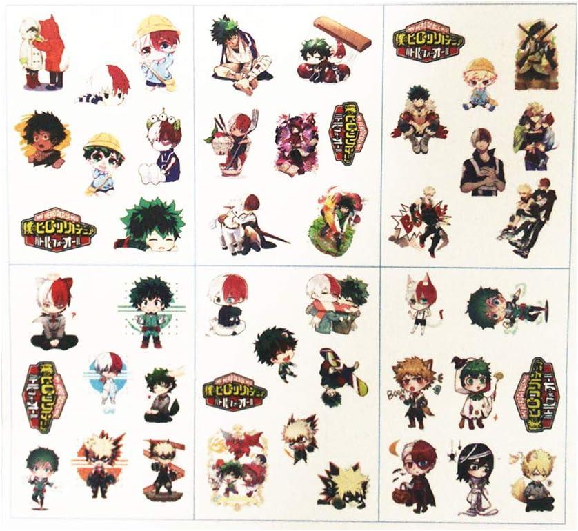 Pegatinas de vinilo de My Hero Academia 73 piezas